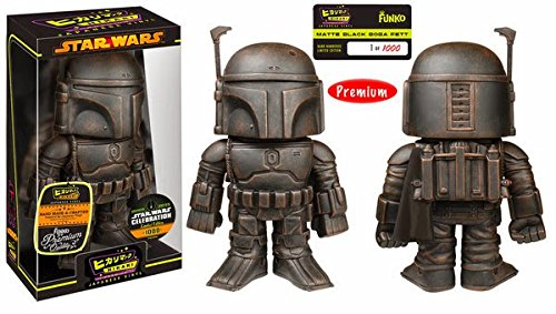Star Wars figurine Hikari Sofubi Matt Black Boba Fett 19 cm