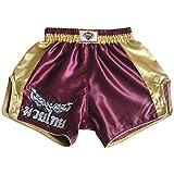 Katemanee Muay Thai Hose Kickboxen MMA Gym Shorts Damen Herren Medium (Waist 28')