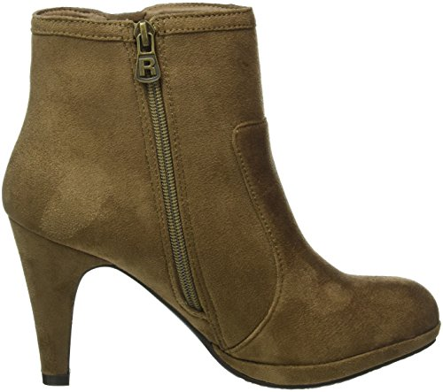Refresh 62276, Bottines non doublées femme Brun (Taupe)