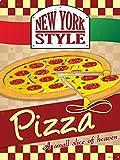 Grindstore New York Style Pizza Blechschild 30,5x 40.7cm