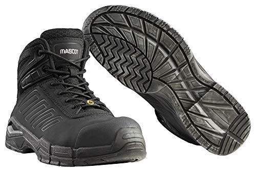 Mascot Trivor Sicherheitsstiefel S3 Arbeitsschuhe F0114-937 - Footwear fit Herren 46 EU Schwarz