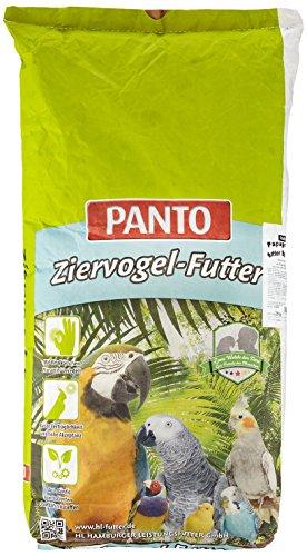 Panto Papageienfutter ohne Nüsse mit Pluramin 25 kg, 1er Pack (1 x 25 kg)