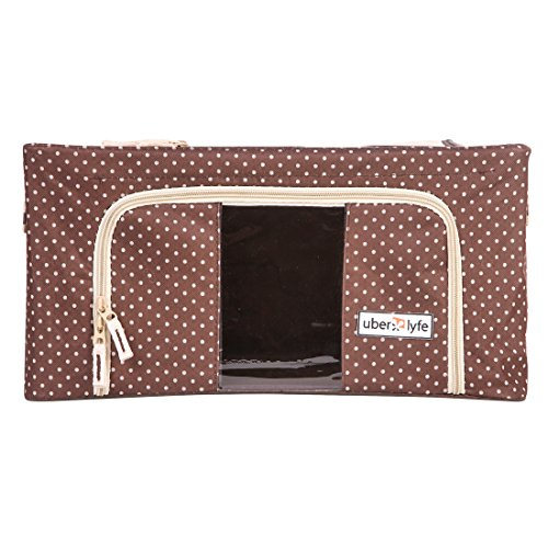 Uberlyfe Jumbo Saree Covers with Steel Frames - Foldable Cloth Storage Box...