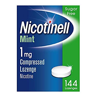 Nicotinell Mint 1 mg Nicotine Lozenges, 12 Lozenges by GLB32