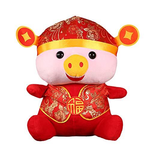 ottchen Tang Anzug Schwein Puppe Plüschtier Wohnkultur Kinder Geschenk,Kindergartenspielzeug,Spielzeug für die frühe Kindheit,Kognitives ()