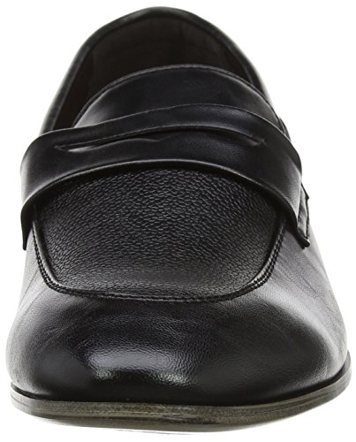 New Look Herren Smart Formal Loafer Slipper Schwarz (Schwarz)