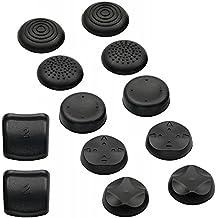 Analog Controller Cups, schwarz - inklusive L2/R2  Aufsatz