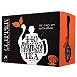 (4 PACK) - Clipper - Fairtrade Everyday One Cup Tea | 440 Bag | 4 PACK BUNDLE