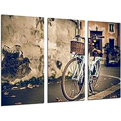 Cuadro Moderno Fotografico Cuadro Bicicleta Vintage, 97 x 62 cm, ref. 26541