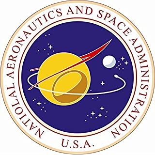 U24 Aufkleber NASA Seal Siegel Autoaufkleber Sticker Konturschnitt