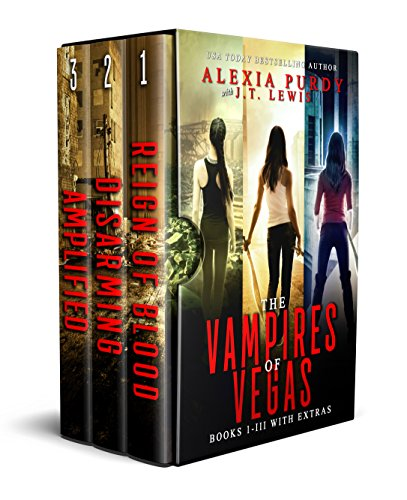 The Vampires of Vegas Books I-III With Extras (Reign of Blood Book 4) (English Edition)
