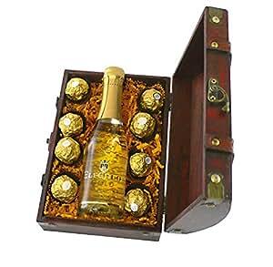 Geschenkset Mini-Truhe Gold-Schätzchen
