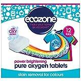 Écozone Détachant & Azurant Pour Les Couleurs Oxy Actions 12 Comprimés 240G - (Paquet de 6)