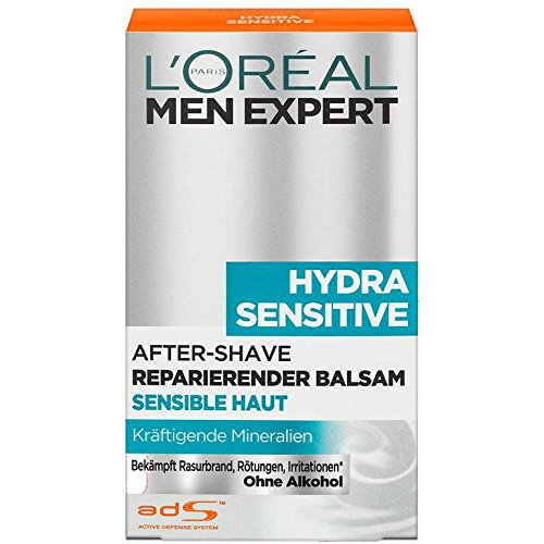 L\'Oréal Men Expert After Shave Balsam Hydra Sensitive (2 x 100ml)