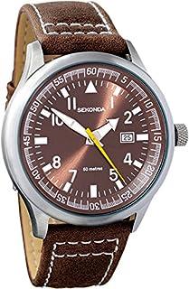 Sekonda Gents Brown Dial Date Strap WR Watch 3882 (B002JOIO4O) | Amazon price tracker / tracking, Amazon price history charts, Amazon price watches, Amazon price drop alerts