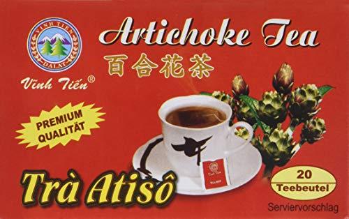 Vinh Tien Artischocken Tee, 2er Pack (2 x 40 g Packung)