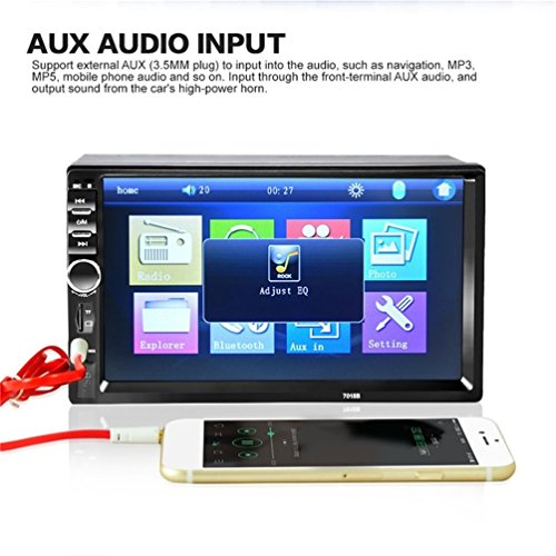 Auto Bluetooth Audio In-Touchscreen Autoradio Auto Audio Stereo MP5 Player