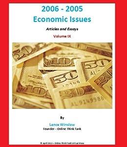 Economic issues essay
