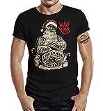 Biker Weihnachts T-Shirt - Heavy Xmas