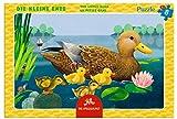 Kleines Rahmenpuzzle Die kleine Ente (8 Teile)