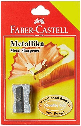 Faber-Castell Metallika Metal Sharpner(Silver)