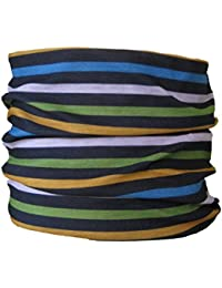 Multifunctional Headwear Thin Multi Stripes