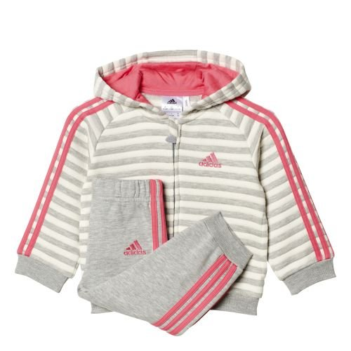 adidas I WINTER FZ HD - Sweatshirt  - Junge, Grau, 86