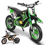 Hecht Akku-Pocketbike Pocketbike Elektro-Kindermotorrad Motorrad (Grün)