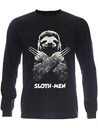 PALLAS Unisex's Sloth Men Lazy Running Team T-Shirt