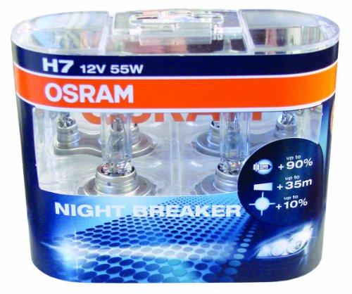 Preisvergleich Produktbild Osram 64210 NBR HCB H7 NIGHTBREAKER +90% Duo-Pack - Auslauf Model
