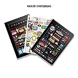 #5: Mc Sid Razz Friends TV Series Birthday gift set/Rakhi gift set Combo pack of 3 Binded Notebook Licensed By Warner Bros. USA