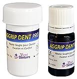 AGGRIPDENT PRO - Fixer votre dentier sans Colle Dentaire pendant 12 mois !