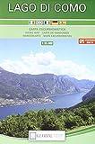Lago di Como. Carta escursionistica 1:35.000 (cm 74,0x120,5)