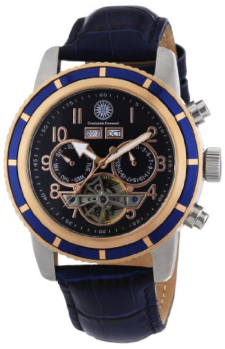 Constantin Durmont Men's Watch Pueblo CD-PUEB-AT-LT-STRG-BL