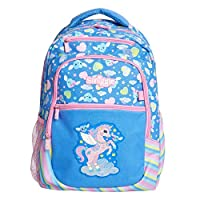 Smiggle Déjà Vu School Kids Backpack for Boys & Girls with Laptop Compartment