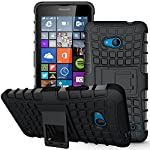 Compatibility: Compatible with Microsoft Nokia Lumia 640 allowing full access to touchscreen, camera, buttons, and ports. Designed with both protection and looks in mind, High quality two piece heavy duty protection case for the Microsoft Nokia Lumia...