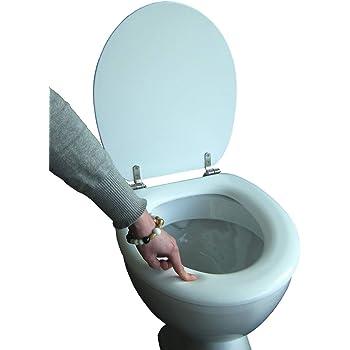 adob wc sitz polsi soft gepolstert mit edelstahlscharnieren wei 69502 baumarkt. Black Bedroom Furniture Sets. Home Design Ideas