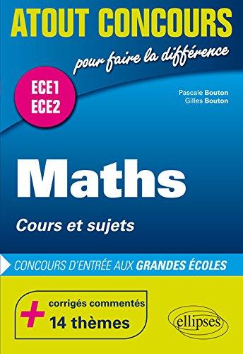 Maths Cours et Sujets ECE1 ECE2