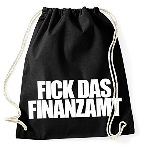 Fick das Finanzamt Gymsack Turnbeutel (Finanzamt)