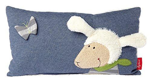 Preisvergleich Produktbild Sigikid 41959 Jungen, Schmuse-Kissen Schaf Schön, blau/weiß