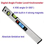 #3: 360 degree Digital Protractor Angle Finder electronic Level Inclinometer 400mm