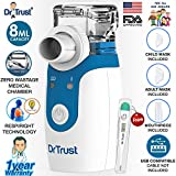 Dr Trust Portable Ultrasonic Mesh Nebulizer Machine Cool Mist Inhaler for Children