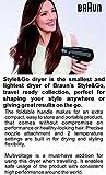 Braun Satin Hair 1 - HD 130 - Lightest Style & Go Travel Dryer (Black)