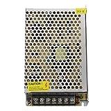 TOOGOO(R) Transformador Corriente de AC 110V 220V a DC 12V 6A 72W para Bombillas LED