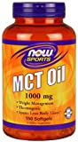 Now Foods, MCT Oil, 1000 mg, 150 Softgels