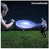 InnovaGoods Ig812553 Frisbee con LED, Unisex Adulto, Talla Única