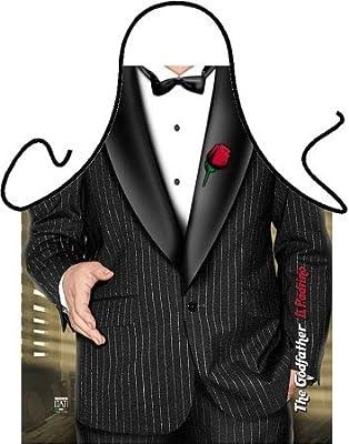 Elegante Küchen- und Grillschürze - Padrino / Anzug