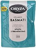 Oryza Pouch Steamed Basmati Kokos & Zitronengras, 6er Pack (6 x 200 g)