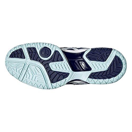 Asics Gel-dedicate 4 Damen Tennisschuhe dunkelblau - hellblau - weiß