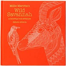 Millie Marotta's Wild Savannah (Colouring Books)